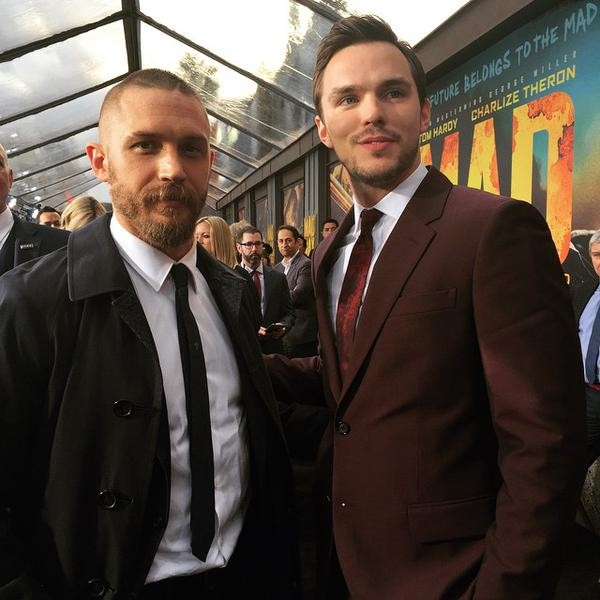 Mad Max: Fury Road Premiere Show,Mad Max: Fury Road,Mad Max 2015,Mad Max: Fury Road review,Tom Hardy,actor Tom Hardy,Rosie Huntington,Whiteley,Abbey Lee Kershaw,Thandie Newton,Billy Zane