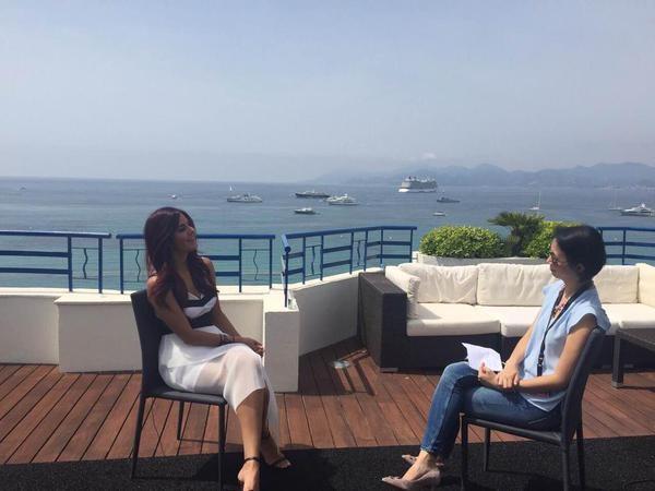 Katrina Kaif first appearance at the Cannes Film Festival