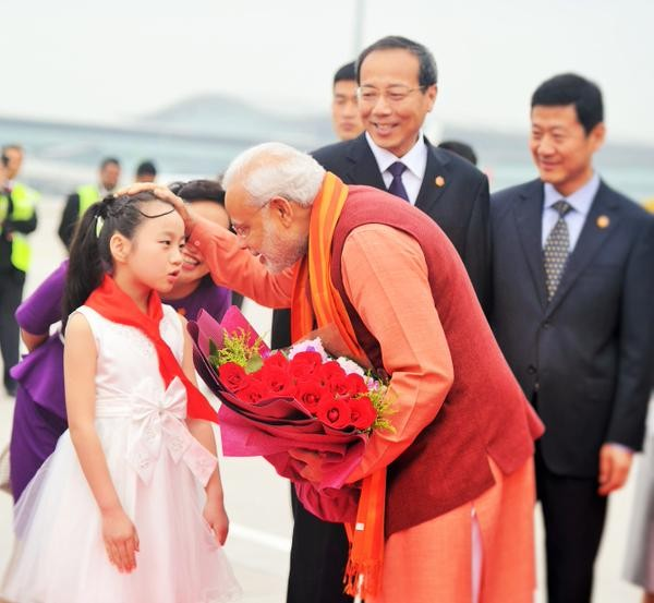 Narendra Modi,PM Narendra Modi begins his 3 Day China Tour,Narendra Modi in china,Narendra Modi reached china,Xi Jinping,Chinese President Xi Jinping,Prime Minister Narendra Modi,indian Prime Minister Narendra Modi,Indian Prime Minister Narendra Modi,PM N