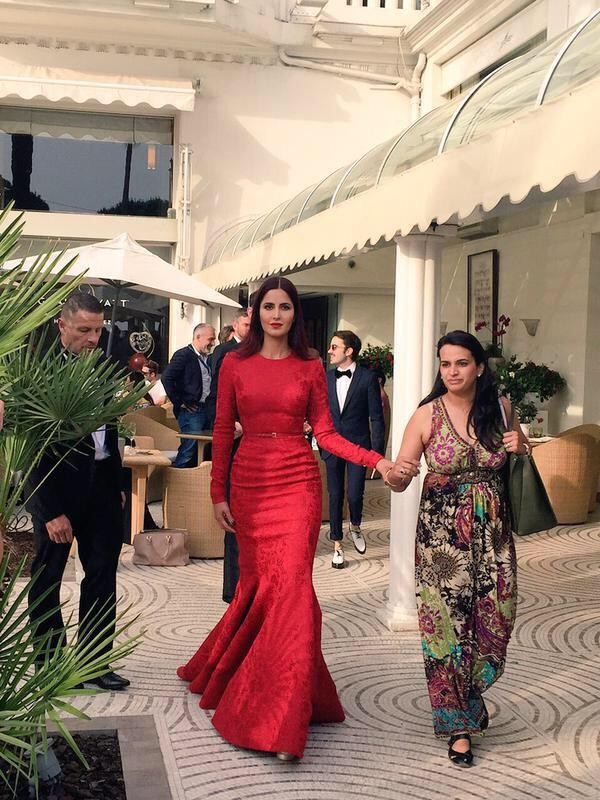 Katrina Kaif dazzles the Red Carpet of Cannes 2015 on Day 2