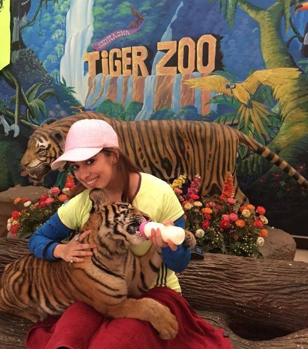 Raai Laxmi at Tiger Zoo