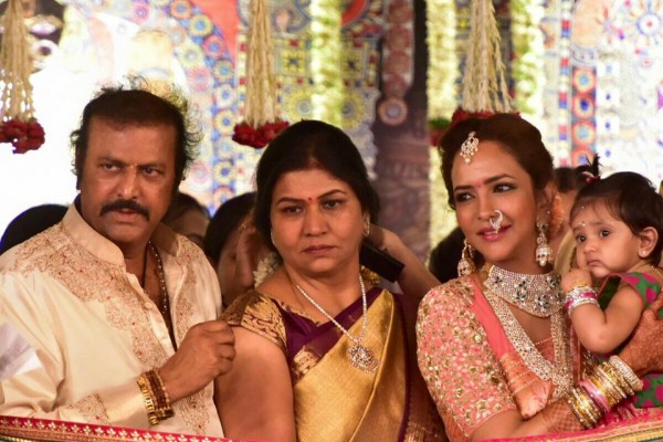 Lakshmi Manchu At Manchu Manoj Wedding Photos Images