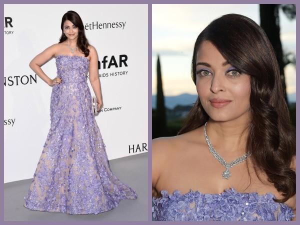 Aishwarya Rai amfAR,Aishwarya Rai Bachchan attends the amfAR gala at Cannes 2015,Aishwarya Rai at amfAR gala,Aishwarya Rai Bachchan,amfAR,amfAR Cannes 2015,Aishwarya Elie Saab,Aishwarya Rai Bachchan lavender Elie Saab,Aishwarya Rai Bachchan cannes,Aishwar