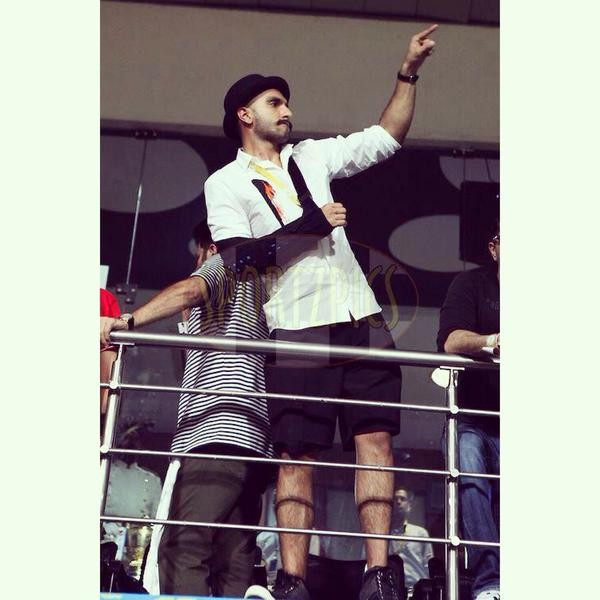 Ranveer Singh at IPL 2015 Final,Ranveer Singh,actor Ranveer Singh,Ranveer Singh watches IPL 2015 Final,IPL 2015 Final,IPL 2015 Final pics,IPL 2015 Final images,IPL 2015 Final photos,IPL 2015 Final stills