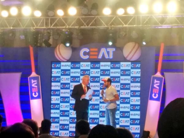 Ceat Cricket Awards 2014-15,Ceat Cricket Awards,Ceat Cricket Awards 2015,Ceat Cricket Awards pics,Ceat Cricket Awards images,Ceat Cricket Awards photos,Ceat Cricket Awards stills,Ceat Cricket Awards pictures