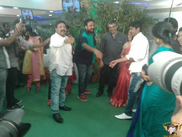 Soouth Indian Actor Ajith at  Suresh Chandra's Daughter Reception