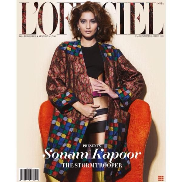 Sonam Kapoor,Sonam Kapoor Photoshoot for L'Officiel Covers,Sonam Kapoor in L'Officiel Covers,Actress Sonam Kapoor,Sonam Kapoor Photoshoot,Sonam turns cover girl for L'Officiel,Sonam Kapoor pics,Sonam Kapoor images,Sonam Kapoor photos,Sonam Kapoor stills,S