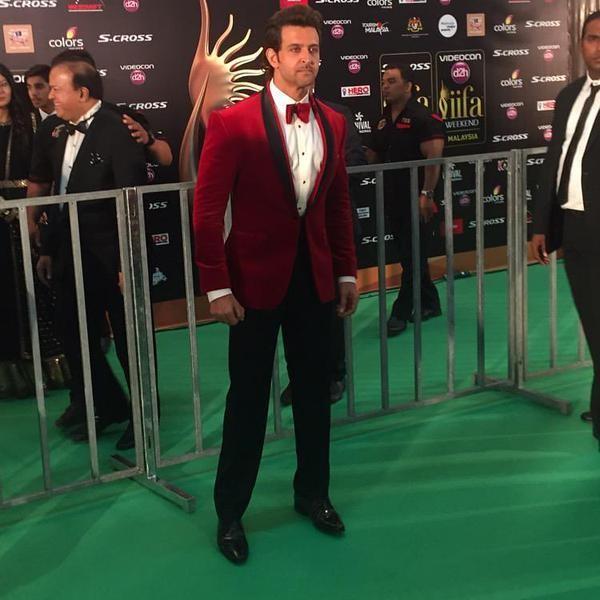 Hrithik Roshan,Hrithik Roshan at green carpet event at IIFA2015,Hrithik Roshan at IIFA2015,Hrithik Roshan at IIFA 2015,Hrithik roshan,actor Hrithik Roshan,IIFA 2015,IIFA 2015 live updates,IIFA awards,IIFA awards 2015