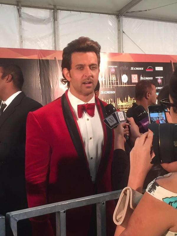 Hrithik Roshan,Hrithik Roshan at green carpet event at IIFA2015,Hrithik Roshan at IIFA2015,Hrithik Roshan at IIFA 2015,Hrithik roshan,actor Hrithik Roshan,IIFA 2015,IIFA 2015 live updates,IIFA awards,IIFA awards 2015