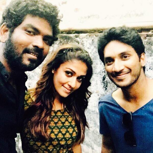 Nayanthara And Vignesh Shivan Selfie