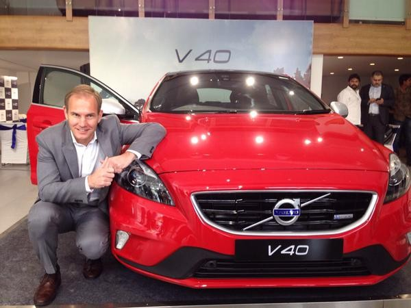 Volvo V40,Volvo V40 car,Volvo V40 Launched in India,Volvo car,V40,Volvo V40 Hatchback,V40 in india,volvo v40 cross country india