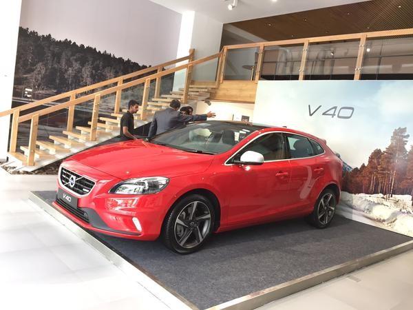 Volvo V40,Volvo V40 car,Volvo V40 Launched in India,Volvo car,V40,Volvo V40 Hatchback,V40 in india,volvo v40 cross country india