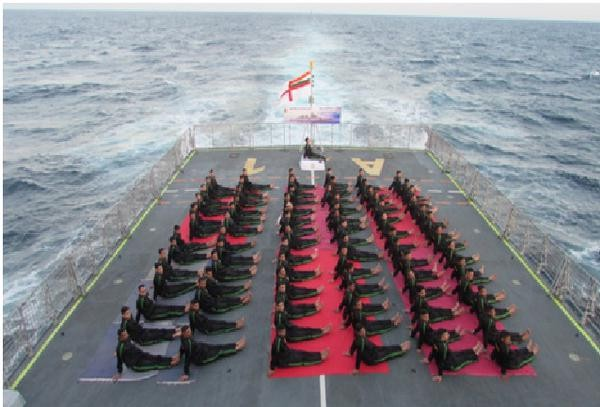 Yoga Day,Yoga Day 2015,International yoga Day,International Yoga Day 2015,21st International Yoga Day,Indian Navy,Indian Navy yoga