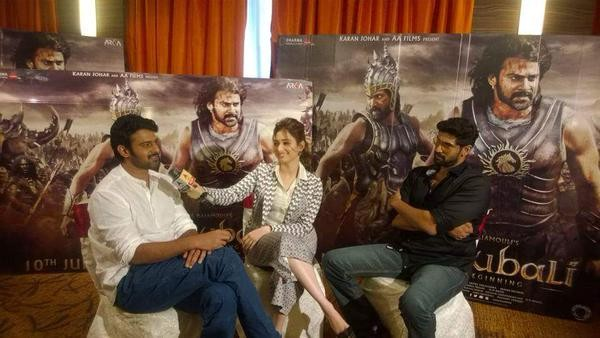 Baahubali,Baahubali Movie Promotion in Mumbai,Baahubali Movie Promotion,Prabhas,Tamannaah,Rana Daggubati,Baahubali Movie Promotion pics,Baahubali Movie Promotion images,Baahubali Movie Promotion photos,Baahubali Movie Promotion stills,Baahubali Movie Prom