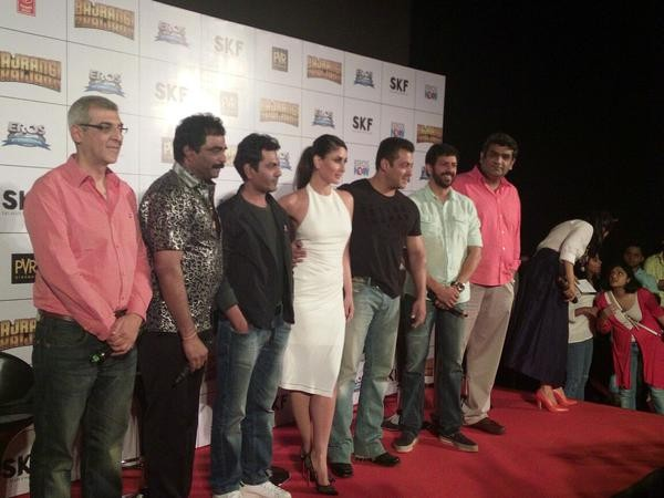 Bajrangi Bhaijaan Trailer Launch,Bajrangi Bhaijaan Trailer Launch pics,Salman Khan,Kareena Kapoor Khan,Kareena Kapoor,Bajrangi Bhaijaan Trailer Launch stills,Bajrangi Bhaijaan Trailer Launch photos,Bajrangi Bhaijaan Trailer Launch pictures
