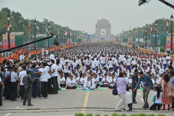 Narendra Modi,International Yoga Day Celebration,Narendra Modi at International Yoga Day Celebration photos,Narendra Modi Does Yogasana,Narendra Modi Yoga Postures pictures,Narendra Modi in different yoga Postures photos