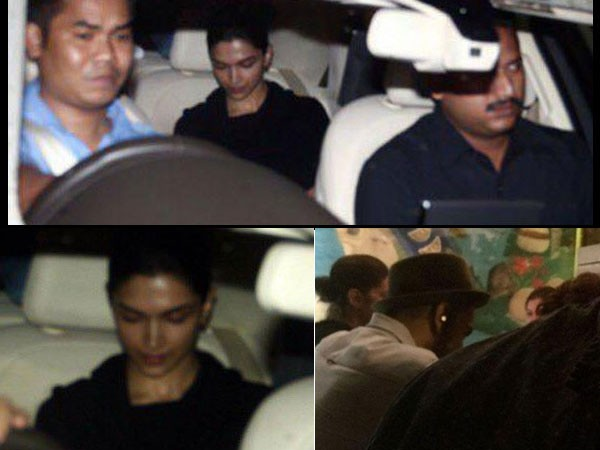 Ranveer Singh and Deepika Padukone,Ranveer Singh,Deepika Padukone,Ranveer Singh and Deepika Padukone datting,Ranveer Singh and Deepika Padukone dinner party,leaked pics of Ranveer Singh and Deepika Padukone