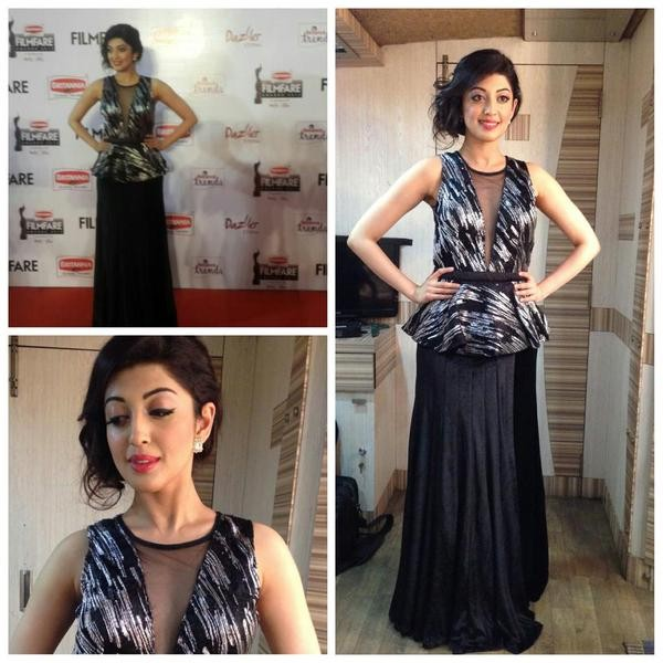 Pranitha Subhash,actress Pranitha Subhash,Pranitha Subhash at 62nd Filmfare Awards,Pranitha Subhash at Filmfare Awards,62nd Filmfare Awards,62nd Filmfare Awards 2015 South,Filmfare Awards,Filmfare Awards 2015,Filmfare Awards pics,Filmfare Awards images,Fi
