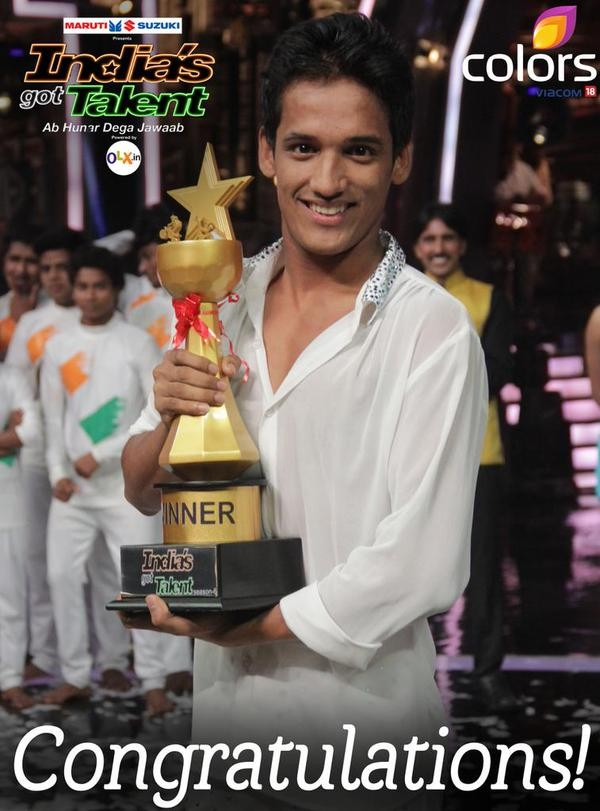Manik Paul,Manik Paul wins India's Got Talent season 6,India's Got Talent season 6,India's Got Talent,India's Got Talent  6,Manik Paul pics,Manik Paul images,Manik Paul photos