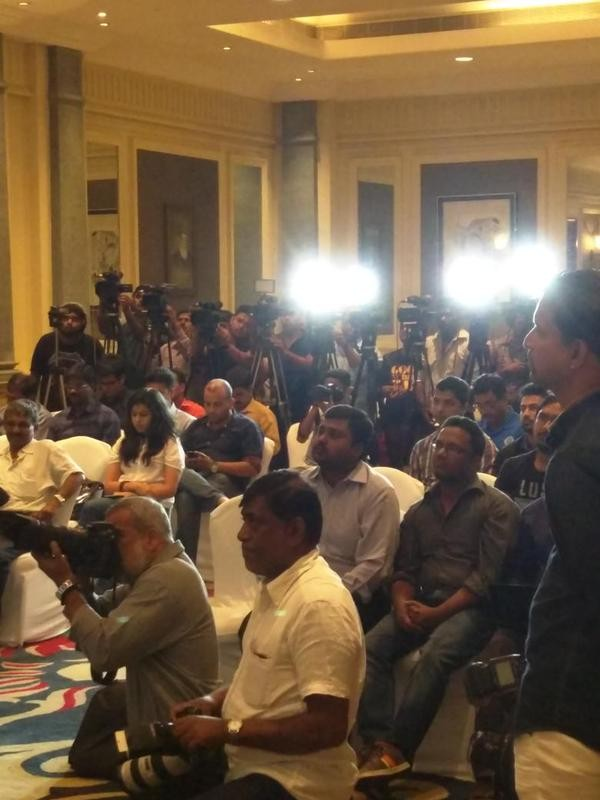 Ajinkya Rahane,Ajinkya Rahane addressing the Press Conference,Ajinkya Rahane at Press Conference,Indian Cricket Player Ajinkya Rahane,india vs zimbabwe,india vs zimbabwe 2015