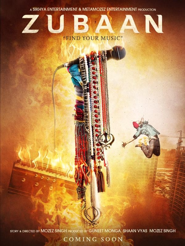 Zubaan First Look Poster,Zubaan First Look,Zubaan,Zubaan Poster,Vicky Kaushal,Sarah Jane Dias,bollywood movie Zubaan