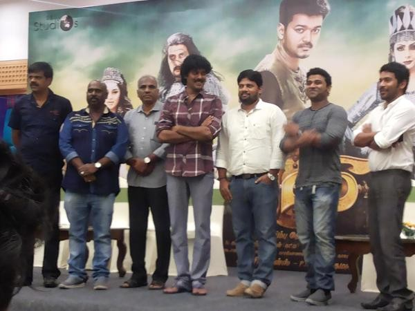 Puli Press Meet,Puli,tamil movie Puli,Puli Press Meet pics,vijay,vijay's Puli Press Meet,Puli Press Meet images,vijay's Puli Press Meet photos,vijay's Puli Press Meet stills,vijay's Puli Press Meet pictures,vijay's Puli Press Meet