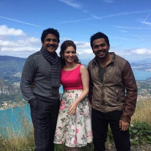 Tamannaah,Akkineni Nagarjuna,Karthi,PVP Untitled Movie,Vamsi Paidipally movie,Tamannaah,Akkineni Nagarjuna and Karthi