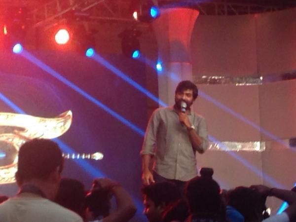 Vijay Sethupathi at Puli Audio Launch,Puli Audio Launch,vijay's Puli audio launch,Vijay Sethupathi,actor Vijay Sethupathi,Vijay Sethupathi  latest pics,Vijay Sethupathi  latest images,Vijay Sethupathi  latest photos