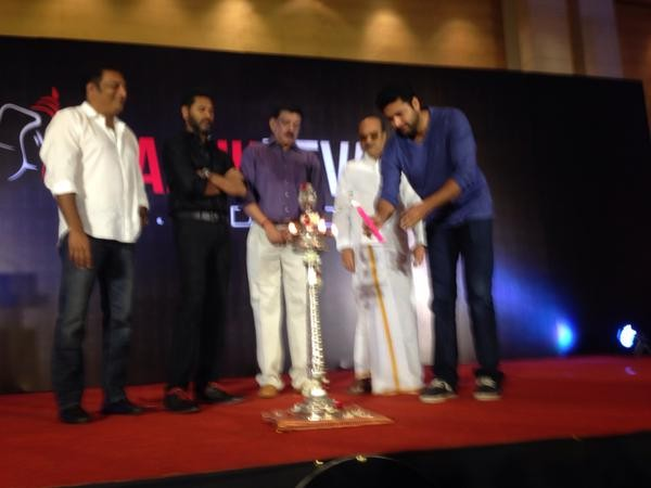 Prabhu Deva Launches his Production House,Prabhu Deva own Production House,Prabhu Deva,actor Prabhu Deva,Jayam Ravi,Prakash Raj,Prabhu Deva Production House