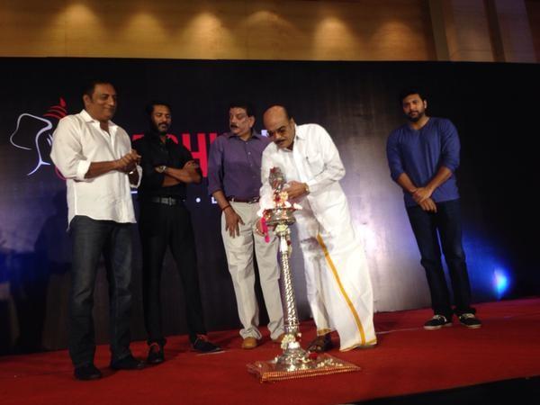Prabhu Deva Launches his Production House,Prabhu Deva own Production House,Prabhu Deva,actor Prabhu Deva,Jayam Ravi,Prakash Raj,Prabhu Deva Production House