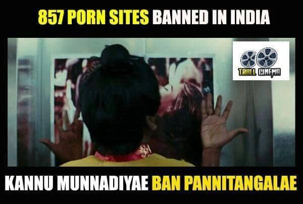 Porn Ban,adult websites,Porn Ban Funny Memes,Porn Ban Memes,Funny Memes,Memes,Porn Ban in India,Ban on porn
