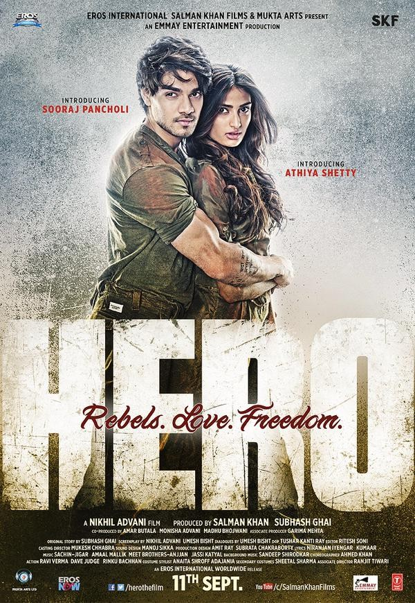 Hero First Look,Hero First Look Poster,Sooraj Pancholi,Athiya Shetty,Govinda,Hero Movie Poster,bollywood movie Hero,Hero movie stills,Hero movie pics,Hero movie images,Hero movie photos,Hero movie pictures