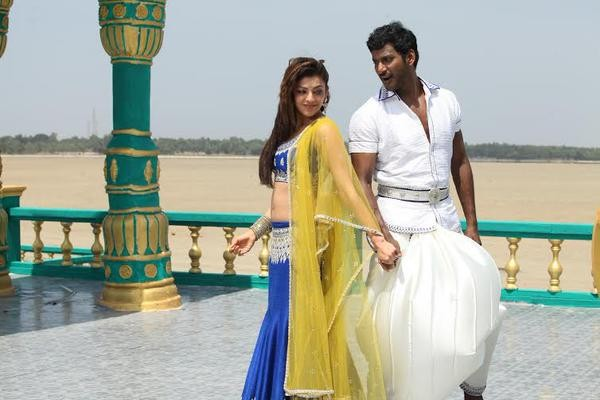 Vishal,Kajal Agarwal,Vishal and Kajal Agarwal,Paayum Puli,Paayum Puli Movie stills,Paayum Puli Movie pics,Paayum Puli Movie images,Paayum Puli Movie photos,Paayum Puli Movie pictures