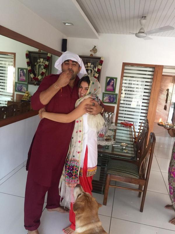 Hansika Motwani,Hansika,nani,Gutta Jwala,Hansika celebrates Raksha Bandhan,Nani celebrates Raksha Bandhan,Gutta Jwala celebrates Raksha Bandhan,Raksha Bandhan,Raksha Bandhan 2015,Raksha Bandhan celebration,Raksha Bandhan celebration pics,Raksha Bandhan ce