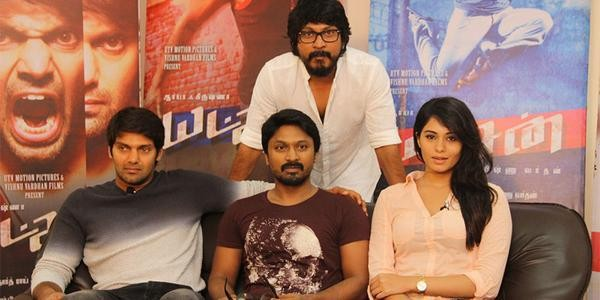 Arya,Deepa Sannidhi,Krishna,Yatchan Team Interview,Yatchan press meet,Yatchan,tamil movie Yatchan,Yatchan Team Interview pics,Yatchan Team Interview images,Yatchan Team Interview photos,Yatchan Team Interview stills,Yatchan Team Interview pictures,Kreshna