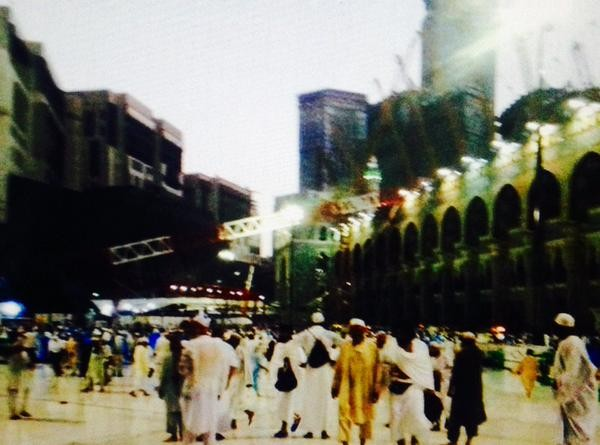 Crane collapse at Mecca Mosque,Crane collapse,Mecca Mosque