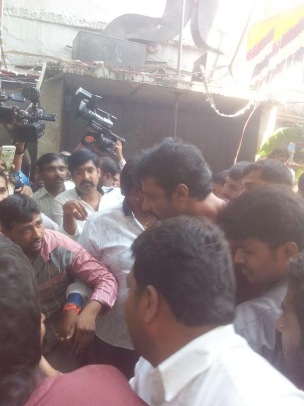 Darshan,actor Darshan,Darshan visits Annamma Temple,Challenging Star Darshan,Mr Airavata,Mr Airavata sucess meet