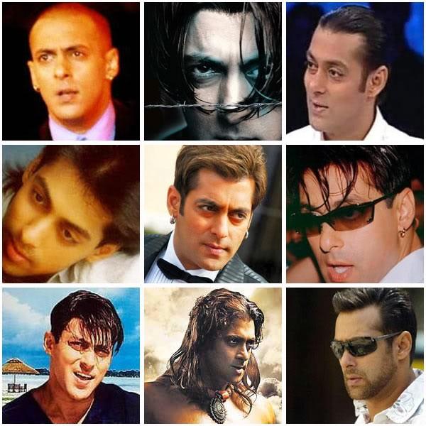 Salman Khan,Shahrukh Khan,Aamir Khan,Akshay Kumar,different Hairstyle,celebs different Hairstyle,celbs Hairstyle,salman khan Hairstyle,shahrukh khan Hairstyle