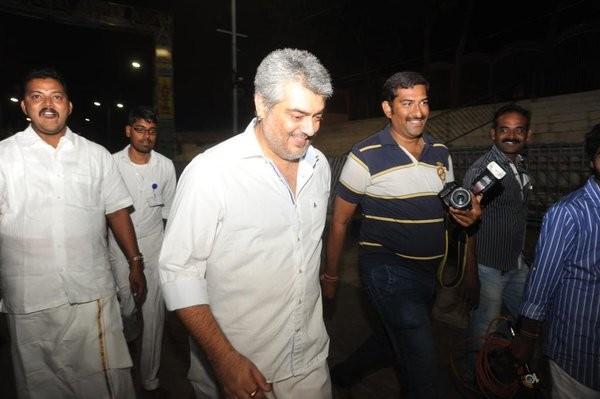 Ajith,Thala Ajith visits Tirupati,Ajith visits Tirupati,Vedalam,Thala Ajith,Vedalam success
