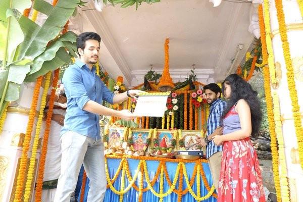 Premam,Premam remake launched,Naga Chaitanya,Shruti Haasan,Akhil Akkineni