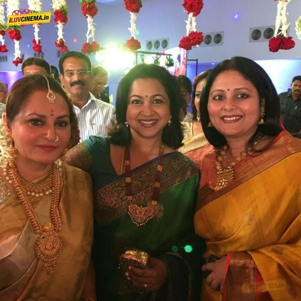 Jayaprada,actress Jayaprada,Jayaprada's son Siddhu Wedding Respection,Siddhu Wedding Respection,Sridevi,sridevi kapoor,Boney kapoor sridevi,Meena,Ambareesh,Mohan Babu