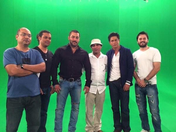 Shah Rukh Khan,Shahrukh Khan,Salman Khan,Bigg Boss 9',Shah Rukh Khan and Salman Khan