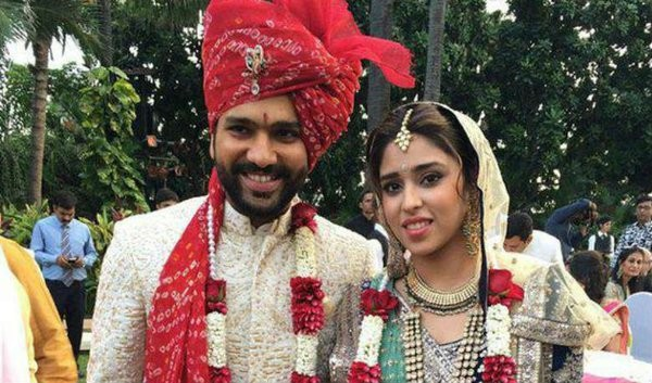 Rohit Sharma and Ritika Sajdeh,Rohit Sharma and Ritika Sajdeh wedding Pictures,Rohit Sharma wedding Pictures,Ritika Sajdeh wedding Pictures,Rohit Sharma marriage Pictures
