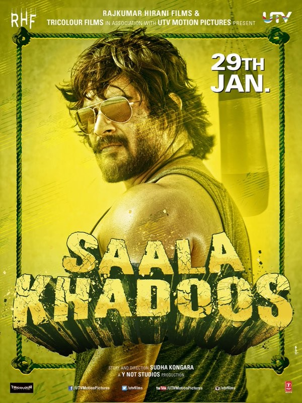 Madhavan,Saala Khadoos first look revealed,Saala Khadoos first look,Saala Khadoos poster,Ritika Singh