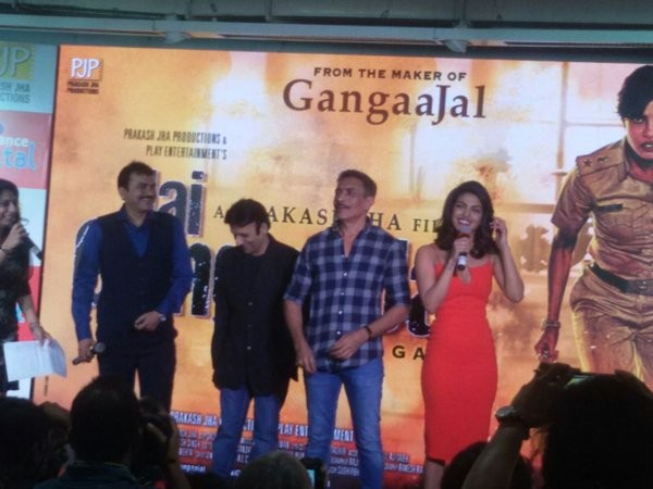 Priyanka Chopra,Priyanka Chopra at Jai Gangaajal Trailer launch,Jai Gangaajal Trailer launch,Jai Gangaajal Trailer,Jai Gangaajal Trailer launch pics,Jai Gangaajal Trailer launch images,Jai Gangaajal Trailer launch photos,Jai Gangaajal Trailer launch pictu