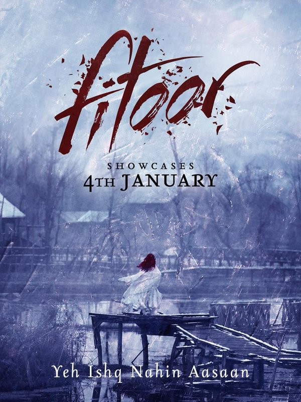 Fitoor first look,Fitoor first look poster,Fitoor poster,Aditya Roy Kapur,Katrina Kaif,Tabu,Siddharth Roy Kapur,Abhishek Kapoor,bollywood movie Fitoor,Fitoor movie stills,Fitoor movie pics,Fitoor movie images,Fitoor movie photos
