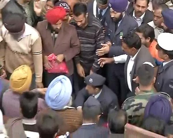 Pathankot Terror Attack,Garud Commando Gursewak Singh,Gursewak Singh,Gursewak Singh's Last rites,Pathankot Attack,Terror attack in Pathankot