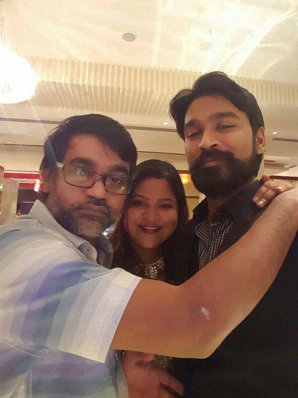 Dhanush,actor Dhanush,Dhanush in kodi,Dhanush thick beard for Kodi film,Kodi,Kodi movie shotting,Durai Senthil Kumar,trisha,Shamlee,Trisha Krishnan