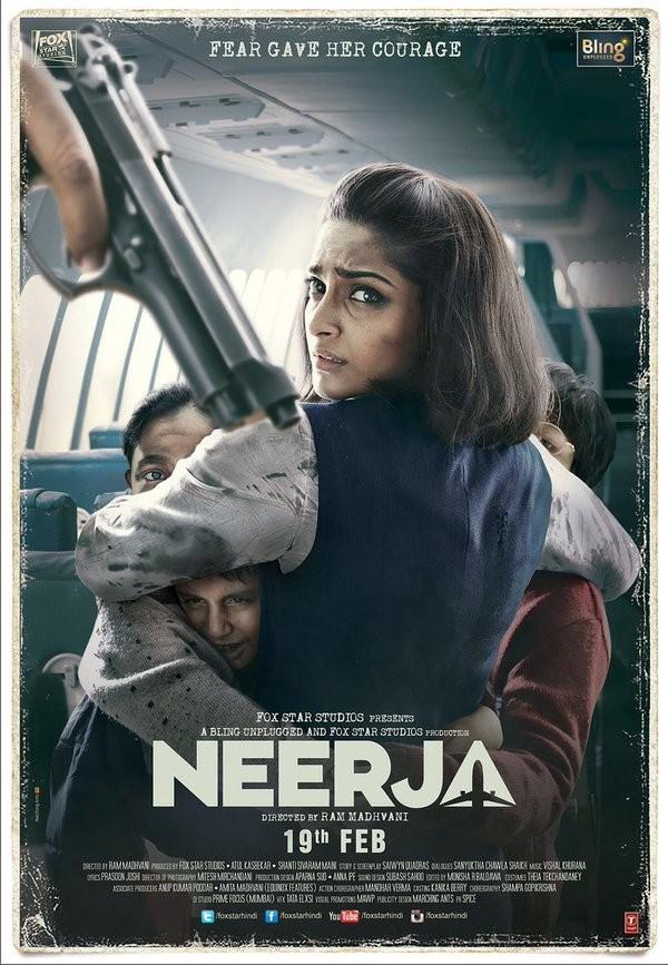 Sonam Kapoor,Neerja first look poster,Neerja first look,Neerja poster,Sonam Kapoor's Neerja,Sonam Kapoor's Neerja first look,Shekhar Ravjiani,Shabana Azmi,Ram Madhvani