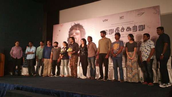 Irudhi Suttru,Irudhi Suttru sucess meet,Madhavan at Irudhi Suttru sucess meet,Ritika Singh at Irudhi Suttru sucess meet,Madhavan,Ritika Singh,Irudhi Suttru sucess meet pics,Irudhi Suttru sucess meet images,Irudhi Suttru sucess meet photos,Irudhi Suttru su